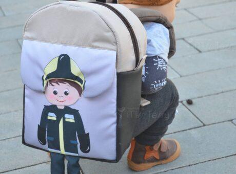 lógalába hátizsák fiúknak- tűzoltó