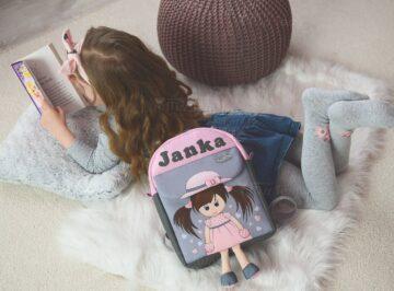 lógalába hátizsák kislány misstessy
