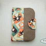 diaper pouch pink stars- misstessy 10