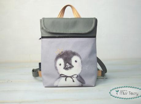Miss Tessy Hátizsák pingvin