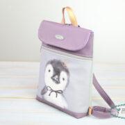 Tessy Backpack Penguin- misstessy 09