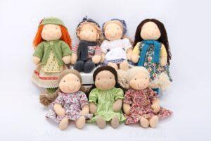 Aledi kézműves babái