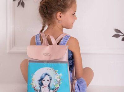 Miss Tessy gyerek Hátizsák- kékhajú Lány
