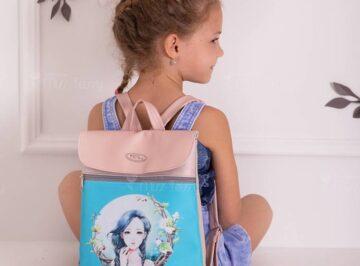 Miss Tessy gyerek Hátizsák- kékhajú Lány (3)