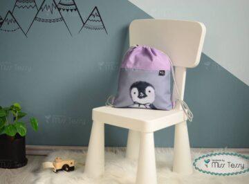 Miss Tessy PakolniJó Gyerek Tornazsák – pingvin lányoknak (1)