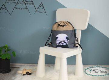 PakolniJó Gyerek Tornazsák – panda fiú-misstessy (2)