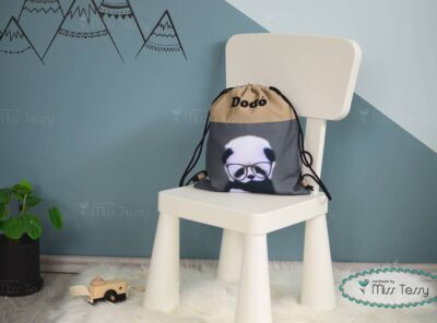 PakolniJó Gyerek Tornazsák - panda fiú-misstessy (2)