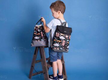 animals textilbőr gyerek hátizsák tornazsákkal m méret